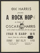 view OK Harris Gallery party invitation digital asset number 1