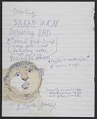 view Jules Olitski notes to Joan Olitski, 1981-2004 digital asset number 1