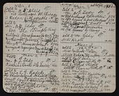 view Notebook recording sales at the Armory Show, New York digital asset: pages 2
