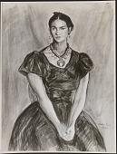 view Reproduction of <em>Frieda Rivera</em> by Walter Pach digital asset number 1
