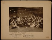 view Photograph of New York School of Art students in costume digital asset number 1
