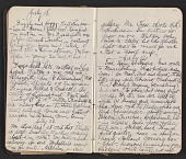 view Walter Pach diary digital asset: pages 13