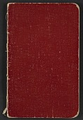view Walter Pach notebook recording sales at the New York Armory Show digital asset: cover