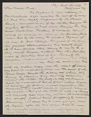 view Arthur B. Davies letter to Walter Pach digital asset number 1