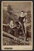 view Alfred and Walter Pach as young boys digital asset number 1