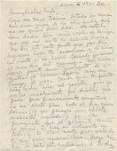 view Frida Kahlo letter to Emmy Lou Packard digital asset: page 1
