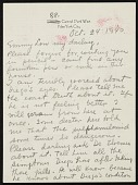 view Frida Kahlo, New York, New York letter to Emmy Lou Packard, San Francisco, California digital asset: page 1
