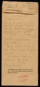 view Frida Kahlo letter to Diego Rivera digital asset number 1