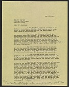 view Emmy Lou Packard draft letter to Milton Meltzer, New York, New York digital asset number 1