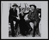 view Photograph of Ralph Stackpole with Diego Rivera and Frida Kahlo digital asset number 1