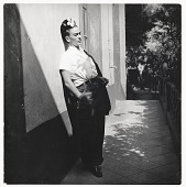 view Photograph of Frida Kahlo in Coyoacan, Mexico digital asset number 1