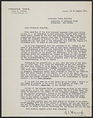 view G. J. Hoogewerff, Florence, Italy letter to Erwin Panofsky, Princeton, N.J. digital asset number 1