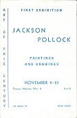 view Jackson Pollock paintings and drawings digital asset: page 1