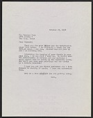 view Betty Parsons letter to Forrest Bess digital asset number 1