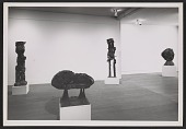 view Installation view of an Eduardo Paolozzi exhibition at the Betty Parsons Gallery digital asset number 1