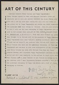 view Contract between Betty Parsons and Peggy Guggenheim regarding representation of Jackson Pollock digital asset number 1