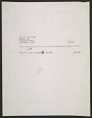 view Sales invoice for No. 8 painting by Jackson Pollock digital asset number 1