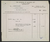 view Sales invoice for No. 1 painting by Jackson Pollock digital asset number 1