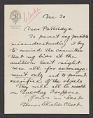 view William Ordway Partridge papers, 1879-1920 digital asset number 1