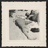 view Andy Warhol, Corinne Kessler, Dorothy Cantor at Fire Island Beach digital asset number 1