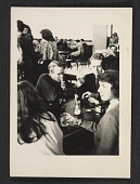 view Andy Warhol and Philip Pearlstein in the cafeteria at the Carnegie Institute of Technology digital asset number 1
