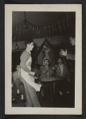 view Party in studio of arts building at the Carnegie Institute of Technology, ca. 1948. digital asset number 1