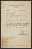 view James Johnson Sweeney, New York, N.Y. letter to Philip Pearlstein digital asset number 1