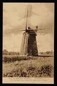 view Old Hayground Windmill. Watermill L.I. <br> Now occupied as a studio of Miss Agnes Pelton digital asset number 1