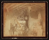 view John Frederick Peto in his studio at Island Heights, New Jersey digital asset number 1