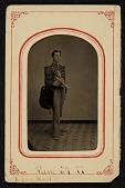 view John Frederick Peto in his uniform for the 3rd Regiment Band of Philadelphia digital asset number 1