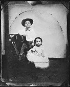 view Childhood portrait of John and Ann Peto digital asset number 1