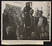 view Photograph of poet Ted Joans with fellow members of Phoenix Gallery digital asset number 1