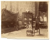 view Photographs of artists in their Paris studios, 1880-1890 digital asset number 1
