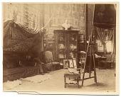 view Photographs of artists in their Paris studios, 1880-1890 digital asset number 1