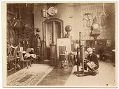 view Jean Léon Gerôme in his studio, painting digital asset number 1