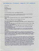 view Joyce Marquess Carey, Madison, Wis. letter to Sue Pierce, Rockville, Md. digital asset: page 1