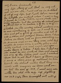 view Horace Pippin, West Chester, Pa. letter to unidentified recipient digital asset number 1