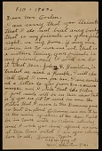 view Horace Pippin, West Chester, Pa. letter to Robert Carlen, Philadelphia, Pa. digital asset number 1
