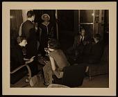 view Lee Krasner, Jackson Pollock, Dorothy Norman and Elaine and Willem de Kooning. digital asset number 1