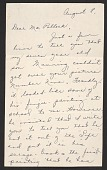 view Mrs. Helen K. Sellers fan letter to Jackson Pollock, with photo of her son Manning digital asset number 1
