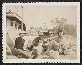 view Lee Krasner with three unidentified people digital asset number 1
