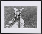 view Jackson Pollock posing with animal bones digital asset number 1