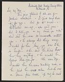 view Elizabeth Wright Hubbard letter to Lee Krasner digital asset: page