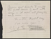 view Betty Parsons Gallery guest book page digital asset number 1