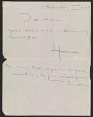 view Hans Hofmann letter to Jackson Pollock digital asset number 1