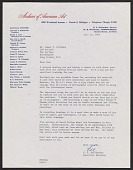 view W.E. Woolfenden letter to James Valliere digital asset number 1