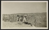 view Photograph of Jackson, Sande, and LeRoy Pollock at the Grand Canyon digital asset number 1