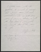 view Jackson Pollock letter to Clyfford E. Still digital asset number 1