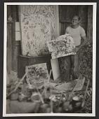 view Jackson Pollock in his studio digital asset number 1