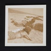 view Lee Krasner and Robert Motherwell on the beach digital asset number 1